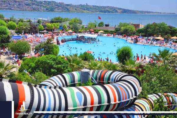 أكوا مارينا Aqua Marine المدينة المائية الساحرة في إسطنبول