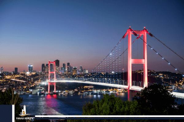 مضيق بوسفور اسطنبول.. جسر البسفور في اسطنبول و أهم المناطق المحيطة