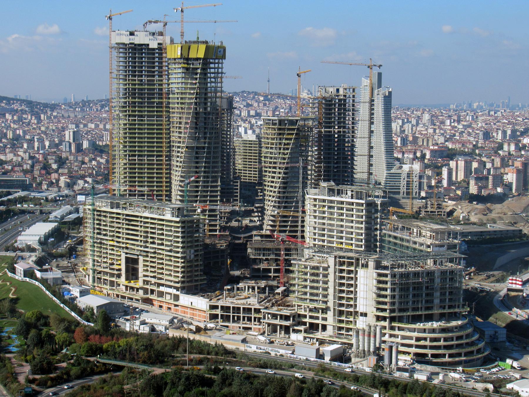 قطاع الإنشاءات والبناء في تركيا ـ نشاط وتألق