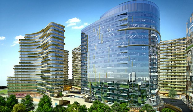 project in central area